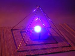 Pyramid, copper pyramid, Pyramid set, Hand made, Egyptian pyramid, magic, yoga pyramid, riki pyramid.